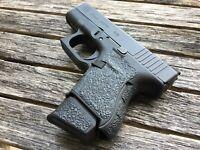 Caloosa Gun Grips for GLOCK 26/27 Rubber Grip Tape High Quality Die Cut Non Slip