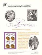 #257 22c Love Stamp - Puppy #2202 USPS Commemorative Stamp Panel