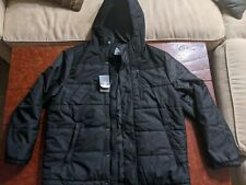 NEW- MEN'S CHAMPION PERFORMANCE large BLACK WINTER COAT- NEW WITH TAGS
