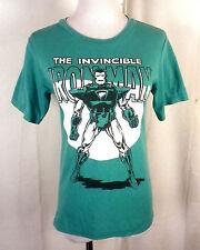 euc Marvel The Invincible Iron Man T-Shirt super hero SZ Youth M