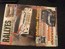 ** Rallyes magazine n°75 Suède / Saxo Kit Car / Les championnats nordiques