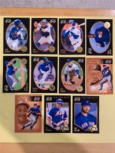 1996 Pinnacle Summit New York Mets Team Set 11 Cards