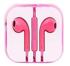 Lumière nouvelle couleur Rose Casque écouteur mains libres avec micro pour iPhone Modèles