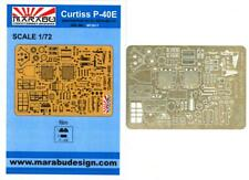 Marabu Models 1/72 CURTISS P-40E WARHAWK Photo Etch Detail Set