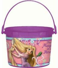 Tangled Disney Princess Rapunzel Kids Birthday Party Favor Plastic Bucket