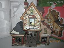 """Train Garden Village House Carnival """" The Antiques Shop """" + Dept 56/Lemax info"""