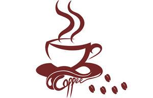 Wandtattoo Kaffee, S-set,Wandtatoo,SA70 Wandaufkleber