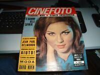 article sur BEATLES nel film Aide! sur CINEFOTO année XI° n. 3 - MARS 1966 RARE