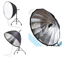 PARABOLICA Softbox 190cm Light Sistema di messa a fuoco SCATOLA PROFONDA FLASH rapidi Bowens S Fit