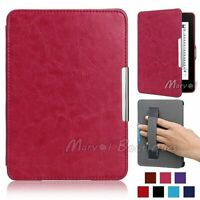 Ultra Thin Magnetic Leather Smart Case Cover for Amazon Kindle Paperwhite 1 2 3