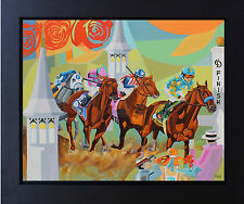 American Pharoah Painting Winning Kentucky Derby Canvas Print Signed  SFASTUDIO