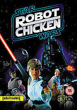 Star Wars Robot Chicken DVD Mark Hamill George Lucas UK Release New Sealed R2