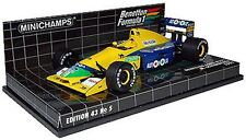 Minichamps modello 1/43 1991 BENETTON B191 Michael Schumacher F1 400 910119