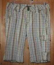 Be Bop brand  SHORTS   size 11    Plaid  (1) cargo pocket  long inseam   LOT7370