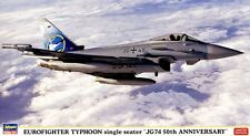 "Hasegawa 1/72 Eurofighter Typhoon (Single Seater) ""JG74 50th Anniversary"" #2097"
