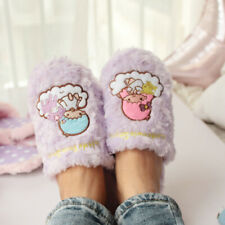 little twin stars purple anime unisex indoor slippers shoes slipper hot gift