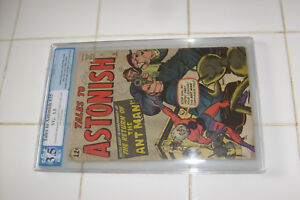 TALES TO ASTONISH #35, 1st ANTMAN IN COSTUME!... PGX GRADED 3.5