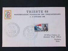 ITALIA 1968 TIRESTE TRIEST COVER d2818