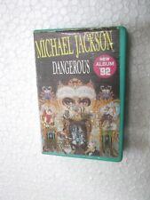 MICHAEL JACKSON MJ DANGEROUS thomsun CLAMSHELL  RARE CASSETTE TAPE