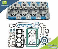 "New Kubota v1702 ""Complete"" Diesel Cylinder Head & Full Gasket Set"