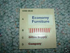 Ertl  decals for Economy Furniture Office Supply etc