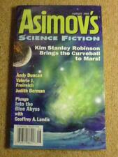 ASIMOVS (SCI-FI) - KIM STANLEY ROBINSON - Aug 1999