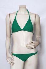 Ropa de baño de mujer de color principal verde de poliamida talla S