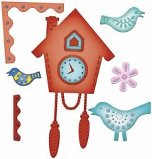 Spellbinder Shapeabilities Cuckoo Clock S5-075