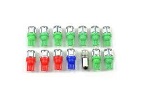 LED High Output Dash Light Kit XA-XB Ford Falcon Green