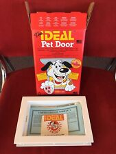 """The Ideal Pet Door Small 5""""x 8""""Flap Size Doggie Cats - New"""