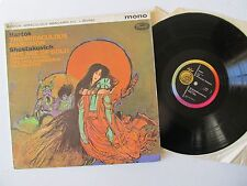 "Bartok The Miraculous Mandarin & Shostakovitch Age of Gold 12"" Lp  Capitol P8576"