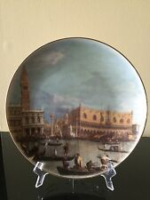 Vintage Lefard England Collection Old City London Art Deco Hanging Buffet Plate