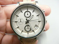 NEW OLD STOCK FOSSIL BOYFRIEND ES3625 38MM CHRONOGRAPH QUARTZ WOMEN WATCH