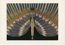 Erte George White Scandals The Nile Costume 1926 Reproduction Fashion Drawing