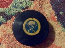Vintage Buffalo Sabres Art Ross Game Hockey Puck Good Cond Converse Made In USA