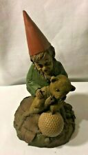 "Collectible Tim Wolfe / Tom Clark Golf Gnome ""Golden"""