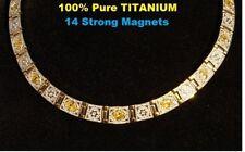 100% Pure Titanium TA2  Very Strong Gauss Magnet  Germanium Far Stones ANION STO