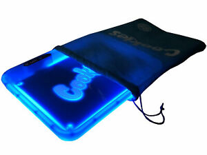 NEW Cookies SF x Glow Tray LED Rolling Tray - Blue READY TO SHIP AlienLabs Runtz