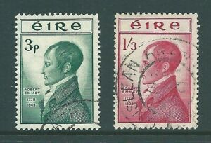 IRELAND 1953 Emmet used SET