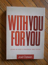 WITH YOU FOR YOU JOEL OSTEEN DVD Living In God's Presence Favor Christian Help