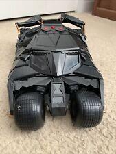 "Dc Comics Batman Begins Dark Knight Batmobile Tumbler Vehicle 13"" Read🔽"