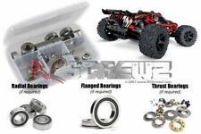 NEW RC Screwz Traxxas Rustler 4x4/VXL Rubber Shielded Bearing Kit FREE US SHIP