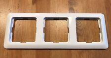 Berker Modul 2 Rahmen 3fach polarweiss 101309