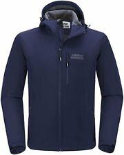 Outdoor Ventures Men's Softshell Jacket Hooded Fleece Lined Tactical Coat - XXL