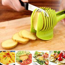 Potato Tomato Onions Lemon Fruit Vegetable Slicer Cutter Egg Peel Kitchen Holder