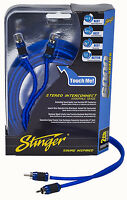 Brand New Stinger RCA Interconnect Cable 6 Feet 6000 Series SI626 2-Channel
