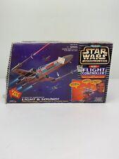 Star Wars Micro Machines Rebel Flight Controller With Luke's X-Wing Starfigh1996