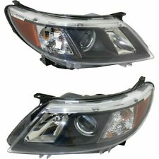 FIT SAAB 9-3 2008-2010 RIGHT LEFT HALOGEN HEADLIGHTS HEAD LAMPS FRONT LIGHT PAIR