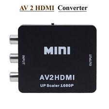 Mini AV2HDMI 1080P HD Vedio Converter AV to HDMI Adapter RCA CVBS USB Composite