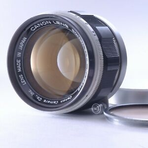 """""""Exc+++++"""" Canon 50mm f/1.4 for L39 Mount Lens w/ Rare Filter 56348 from Japan"""